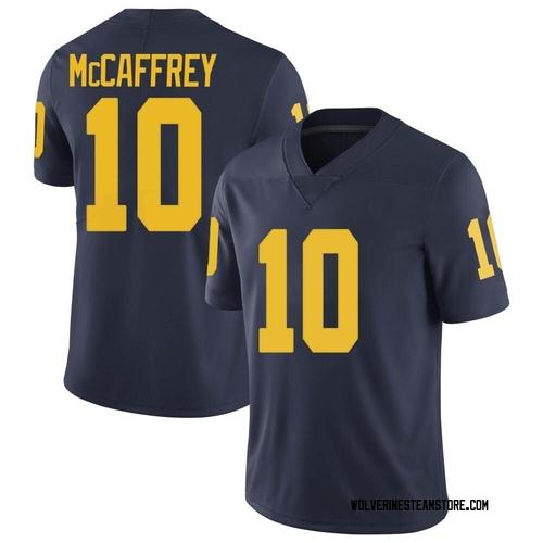Men's Dylan McCaffrey Michigan Wolverines Limited Navy Brand Jordan Football College Jersey