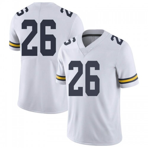 Youth J'Marick Woods Michigan Wolverines Limited White Brand Jordan Football College Jersey