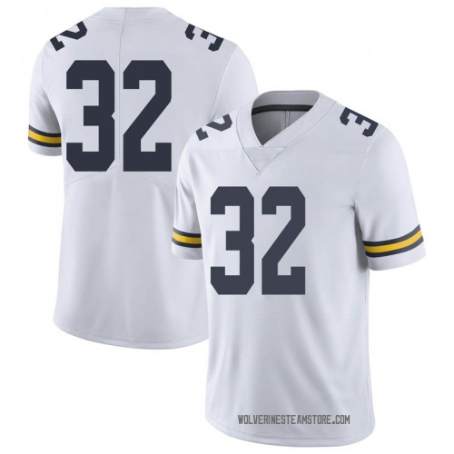 Youth Luke Wilson Michigan Wolverines Limited White Brand Jordan Football College Jersey